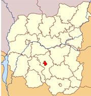 Нежин на карте Черниговской области