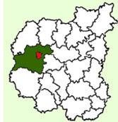 Чернигов на карте области