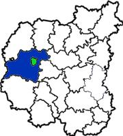 Черниговский район в схеме Черниговской области