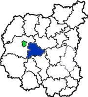 Куликовский район на схеме Черниговской области
