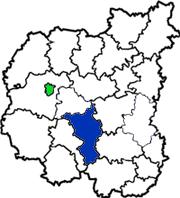 Нежинский район в области на схеме