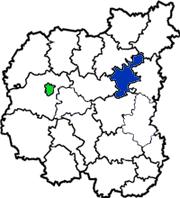 Сосницкий район на карте области