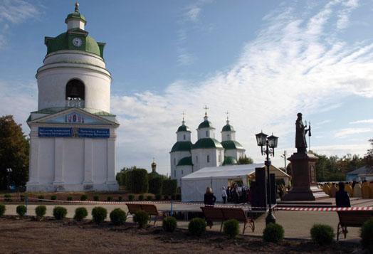 Николаевская церковь колокольня в Прилуках
