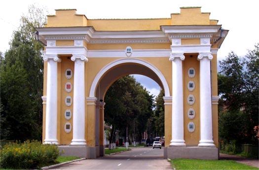 Триумфальная арка в г. Новгород-Северск