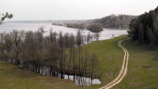 Десна вблизи села Мезина