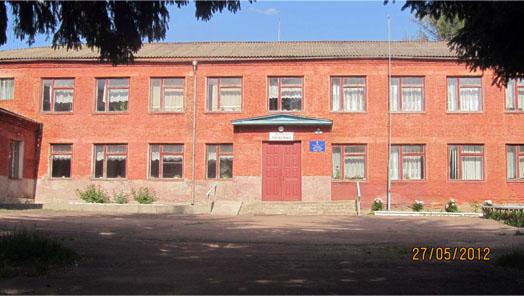 школа в селе Оболонье