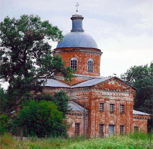 церковь в селе Райгородок