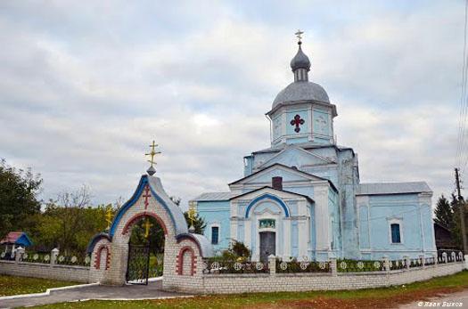 церковь Рождества Богородицы в селе Жевтневое