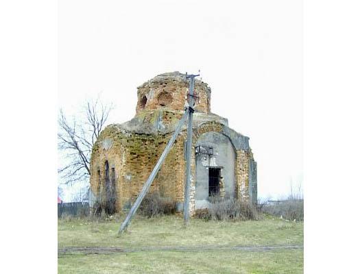 Гавриловская церковь в селе Суботин