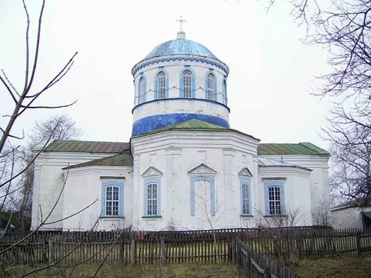 Николаевская церковь в селе Суботин