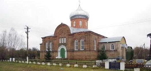 церковь в селе Берестовец