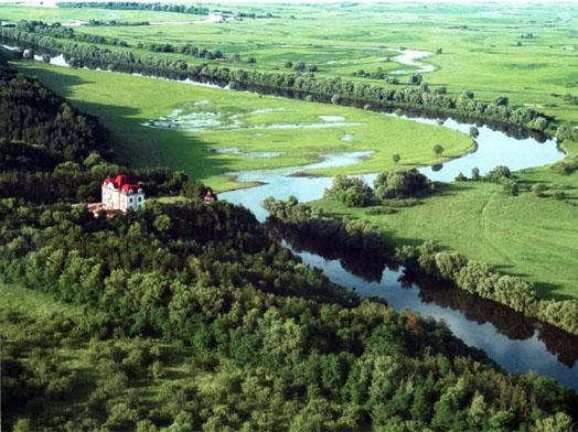 одинокий домик на реке Десна