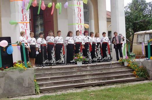 концерт в селе Оболонье