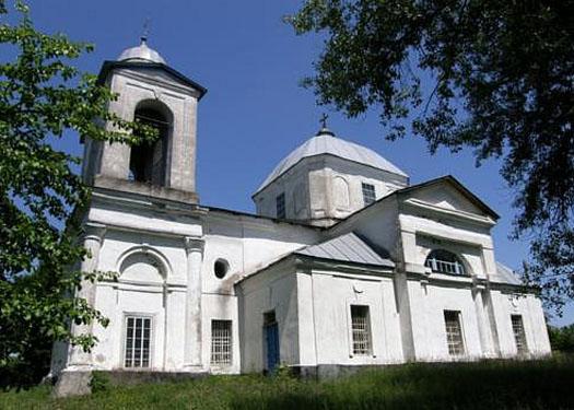 село Оболонье - церковь Рождества Богородицы