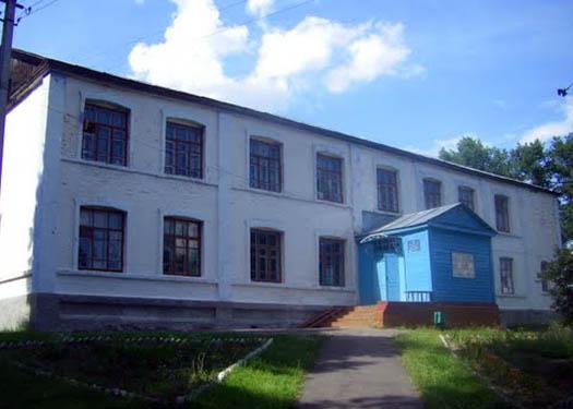 школа в селе Верба