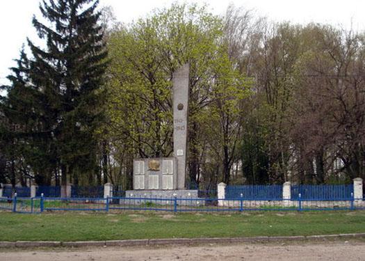 село Высокое, памятный обелиск ВОВ