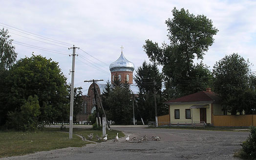 фото центра села Берестовец