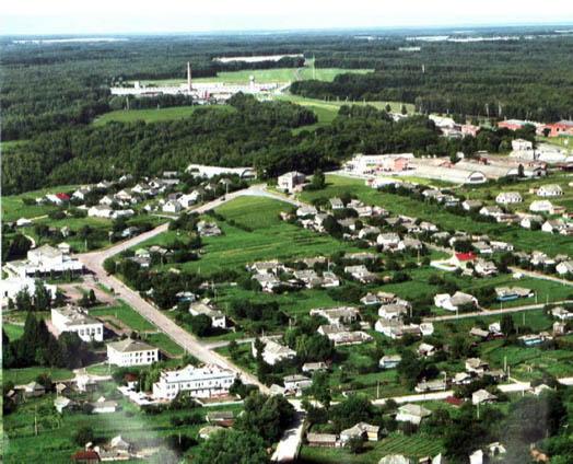 село Свердловка вид сверху