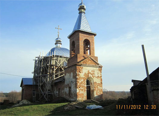 церковь в селе Радичев