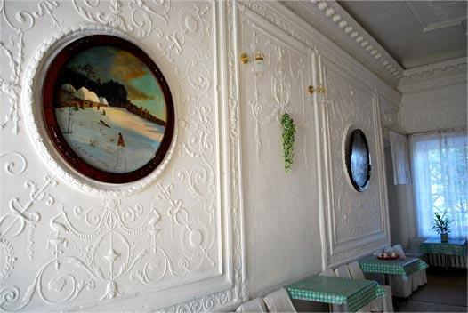 отделка внутри усадьбы Румянцева Задунайского
