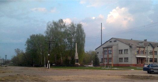 Великая Загаровка, центр села