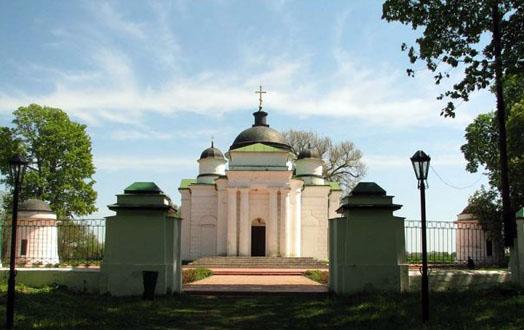 храм на территории села Качановка