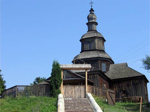 пятисрубная Никольская церковь
