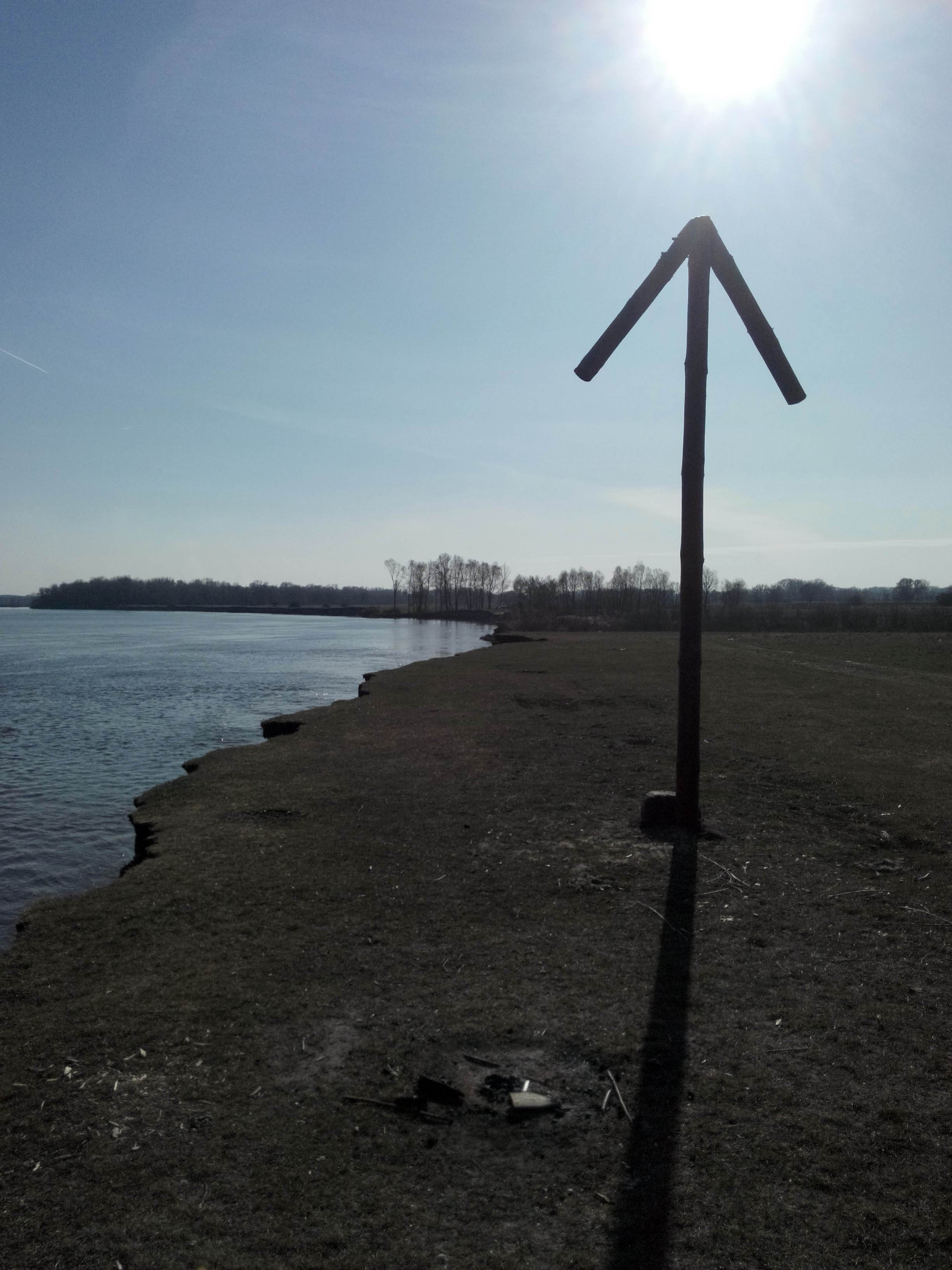 навигация на реке Десна около Чернигова