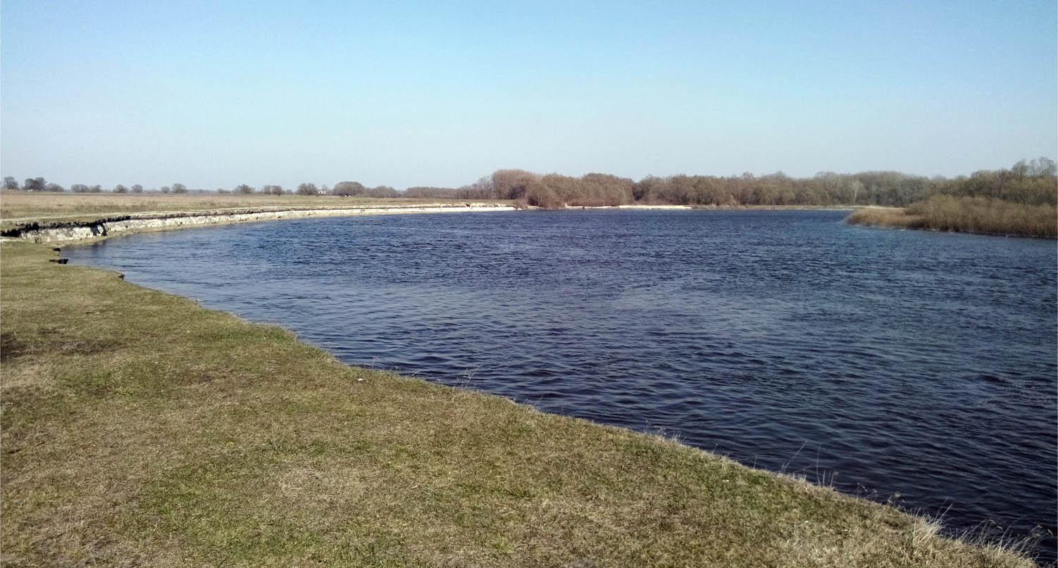 река Десна вблизи села Ульяновка