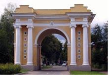 триумфальная арка в Черниговской области
