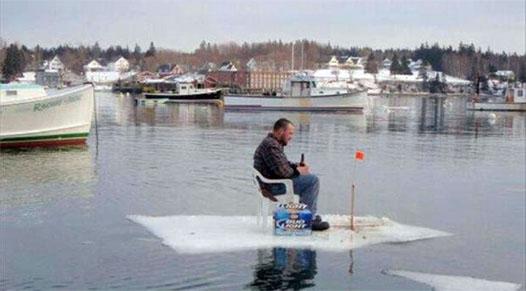 Дрейф на льдине