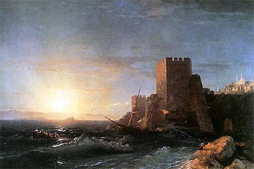 Айвазовский - его картина
