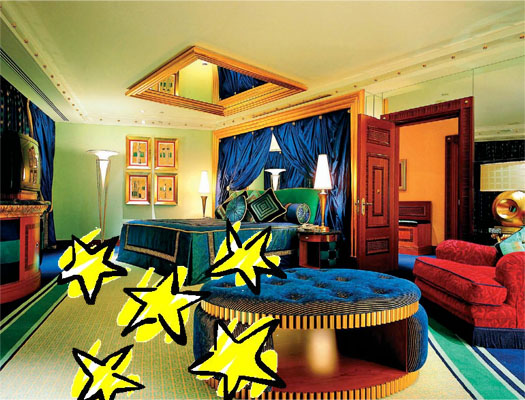 отельный номер на 5 звезд