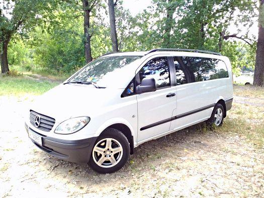 Mercedes Vito Extra Long white